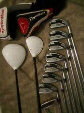 """New listing TaylorMade / Callaway / Complete Set / Woods / Irons / Putter / S Flex """"USED"""""""