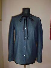 Miu Miu Denim and Silk Shirt **BNWT** IT40-UK8