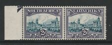SOUTH AFRICA 1930-44 2d WITH 'SPOT & LINE TO LEFT OF TOWER' R 11/2 SG 44e MNH.