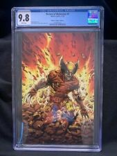 RETURN OF WOLVERINE #1 CGC 9.8! BROWN AND YELLOW COSTUME MCNIVEN VIRGIN VARIANT!