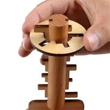 Lustiges Holz Unlock Puzzle-Spiel Spielzeug Schlüssel Kong Ming Verschluss