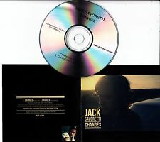 JACK SAVORETTI Changes 2012 UK 2-track promo test CD