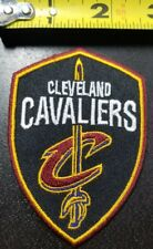 """Cleveland Cavaliers Shield 3 5/8"""" Iron/Sew On Patch ~FREE SHIPPING FROM THE US~"""