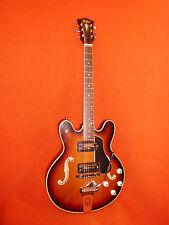 Höfner Semi Acoustic Vintage E-Gitarre, Modell 4572, im Original-Zustand.