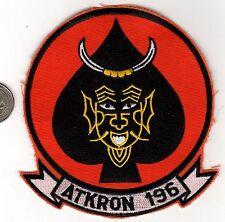 US Marine Corps Attack Squadron Patch ATKRON VMA-196 Naval Aviation USMC
