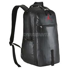 Nike Air Jordan Jumpman Black Red Bred Backpack BP Bag BA8051-010