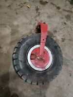 Farmall F12 F14 Single Front Wheel Narrow Front IHC tractor part one wheel front