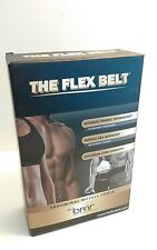 THE FLEX BELT Ab Belt Used Free Shipping Fitness Workout Lose Weight Abs NO PADS