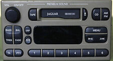 Jaguar S-Type AUX adapter lead 3.5mm jack in-car radio iPod MP3 CTVFOX001 iPhone