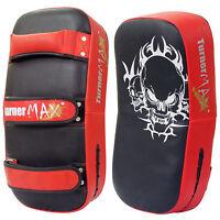 TurnerMAX Thai Kick Boxing Strike Curved Arm Pad MMA Focus Muay Punching Shield