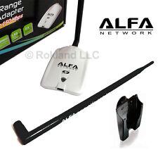 NEW ALFA AWUS036NHR USB Wireless Wi-Fi & 9 dBi ANTENNA