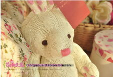 LAURA ASHLEY Rabbit Joint Woolen  Sleep Appease Cream Doll Toys Kids Gift