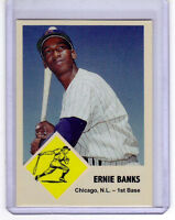 Ernie Banks, '63 Chicago Cubs, Monarch Corona #76 extension series NM cond