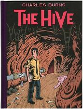 The Hive Hardcover Graphic Novel Signed Edition by Charles Burns HC GN NEW NM