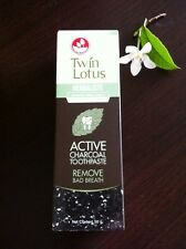 ACTIVE CHARCOAL TOOTHPASTE BLACK TOOTHPASTE HERBAL EXTRACT REMOVE BAD BREATH
