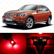 13 x Brilliant Red LED Interior Light Package For 2013-2014 BMW X1 Series E84