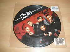 "ULIMATE KAOS 7"" VINYL PICTURE DISC SHOW A LITTLE LOVE CARD 18 1995 EX '"