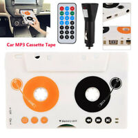 Car USB Charger Kit Stereo Cassette Audio Tape MMC Mp3 Player Adapter Headphone