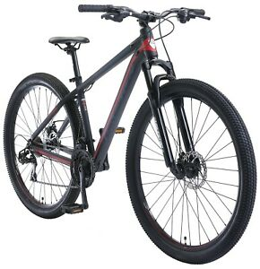 "BIKESTAR Aluminum Mountainbike 29 inch | 21 gear Hardtail Sport MTB 17"" frame"