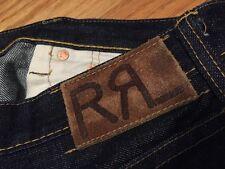 Vintage RRL Double RL Redline Selvedge Indigo Denim Jeans. Size 34x30