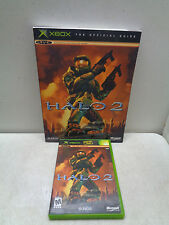 Halo 2 (Microsoft Xbox, 2004) W/BOOKLET & GUIDE