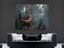 PREDATOR film poster Arnold Schwarzenegger art Mural grande image