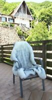Luxury Fluffy Soft Fox Fur Rug Floor MatThick Chair Cover Blanket Area Carpet