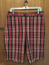 NWT Jones New York Shorts, Stretch, Size 10, Plaid