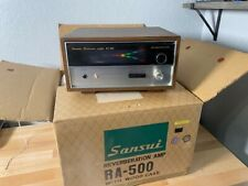 MINT - Vintage SANSUI RA-500 Reverberation Amp - Excellent Working WITH OG BOX