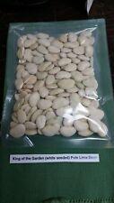 King of the Garden Pole Lima Bean Seed Garden Veg *Save $5* 1/2 lb~200 seeds!
