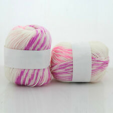 50g New Skein Natural Baby Hand Cashmere Bamboo Cotton Knitting Yarn Silk Ball