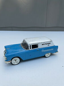 Wix Filters Die Cast Toy Car Coin Bank Liberty Classics 55 Chevy Limited Edition