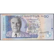 TWN - MAURITIUS 50c - 50 Rupees 2003 UNC Prefix AQ