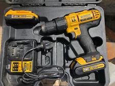Dewalt DCD776 combi drill, 18v lithium-ion combi drill, 2x batts