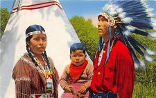 BG32735 indian family cherokee indian reservation n c usa  types folklore