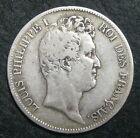 Ecu de 5 Francs - 1831 W - LOUIS-PHILIPPE I - Type TIOLIER - Tranche en creux
