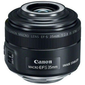 New Canon EF-S 35mm F2.8 Macro IS STM Lens