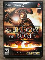 (PS2) Shadow of Rome (Sony PlayStation 2, 2005) Complete in Box (CIB) FREE SHIP