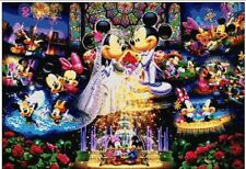 DISNEY MICKEY E MINNIE MOUSE WEDDING cross stitch chart