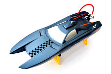 DT M380 Electric Fiber RC Racing Speed PNP Boat Grey W/ Brushless Motor 30A ESC