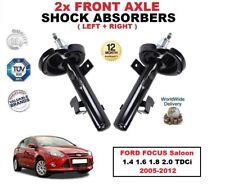 AMMORTIZZATORI ANTERIORE impostato per Ford Focus Berlina 1.4 1.6 1.8 2.0 TDCi 2005-2012