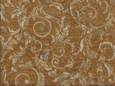 Saxon 4678 Scroll Honey 100% Polyester Fabric