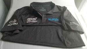 Subaru Rally Team USA STi Red Bull Global Rallycross Team Polo - Size Medium