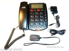 Medical Alert System - NO MONTHLY FEE - With 2 WAY SPEAKERPHONE & Pendant*