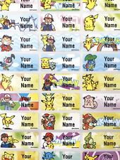 Name Labels, name labels, Waterproof, dishwasher safe, custom, pokemon