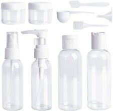 10 Pcs 100ml Travel Pump Bottle Liquid Hand Wash Spray Toiletry Set Leak-Proof