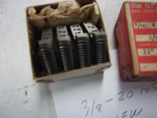 """A NEW SET OF GEOMETRIC TYPE -3/8""""-20- R.H. CHASERS FOR A 9/16 K HEAD. SEE PICS"""