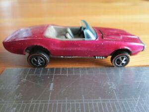 Vintage Hot Wheels Redlines Custom Firebird Creamy Pink