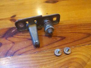 PORSCHE 944 951 TURBO 924S HOOD LATCH STRIKER PIN OEM with bolts