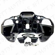 Unpainted ABS Inner Fairing For Harley Davidson Road Glide FLTR Custom CVO 98-13
